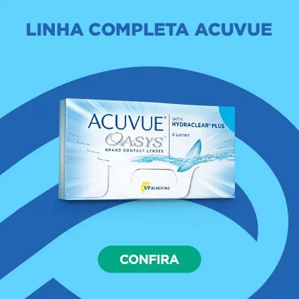 Linha completa Acuvue