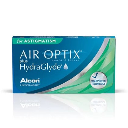 Air Optix Plus Hydraglyde para Astigmatismo