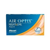 Lentes de contato Air Optix Night Day Aqua