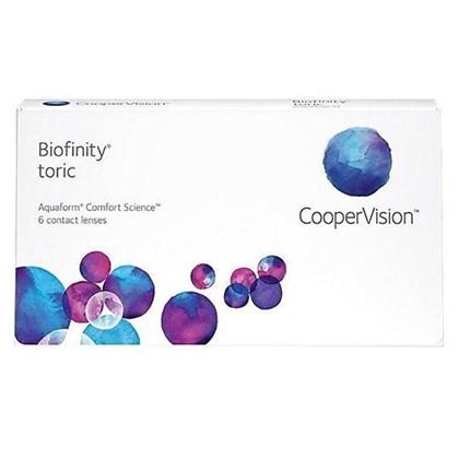 Lentes de contato Biofinity Toric