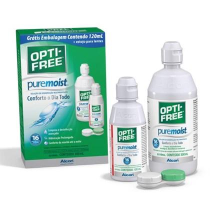 OPTI-FREE PureMoist - Kit (420ml)